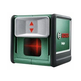 Kryžminių linijų lazerinis nivelyras Bosch Green Quigo III 0603663521, 10 m