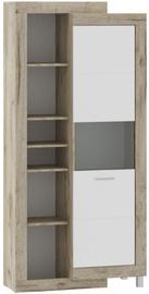 Sekcija Tuckano Ultra Oak/White, 286x52x196 cm