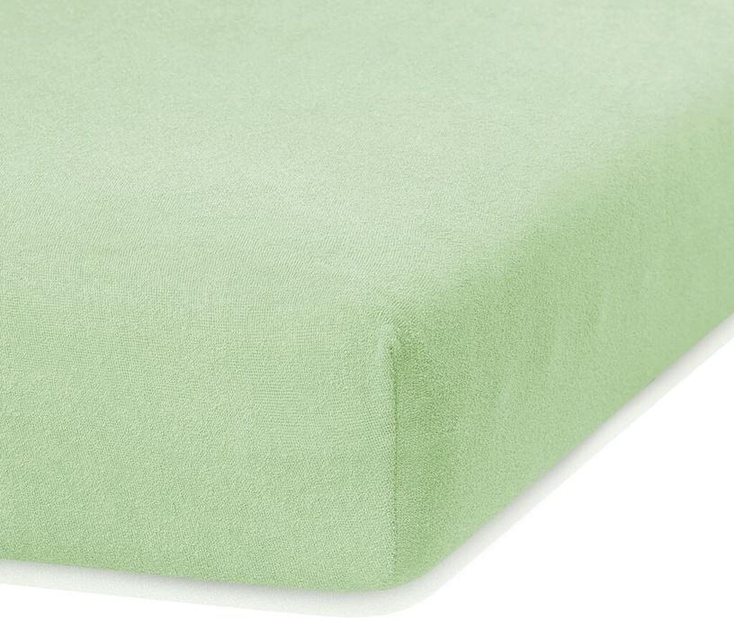 Palags AmeliaHome Ruby, zaļa, 180x200 cm, ar gumiju