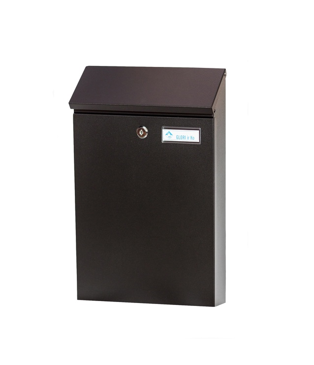 Pašto dėžutė Glori Ir Ko PD958 Black, 254x90x431 mm