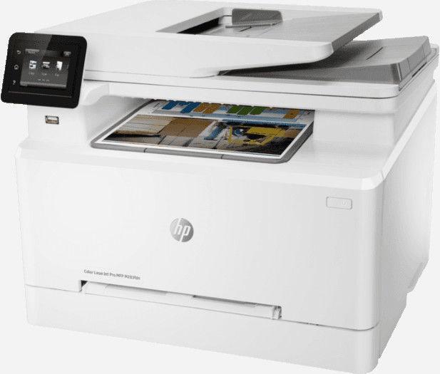 Многофункциональный принтер HP Laserjet Pro M283fdn, лазерный, цветной