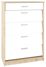 ML Meble Shoe Shelf ML 08 White
