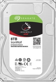 Seagate IronWolf HDD NAS 8TB 7200RPM SATA3 256MB ST8000VN004