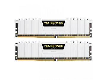 Corsair Vengeance LED White 32GB 3000MHz CL15 DDR4 KIT Of 2 CMK32GX4M2B3000C15W