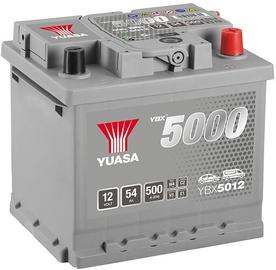 Аккумулятор Yuasa, 12 В, 54 Ач, 500 а