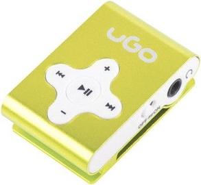 Музыкальный проигрыватель Natec UGO UMP-1023, желтый, - ГБ