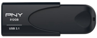 PNY Attaché 4 512GB USB 3.1 Black
