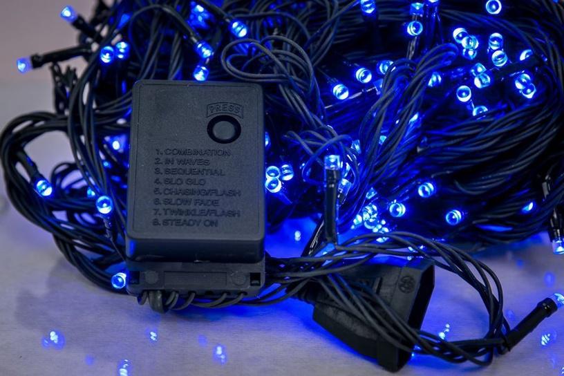 Elektriskā virtene EV LED 200, zila, 14 m