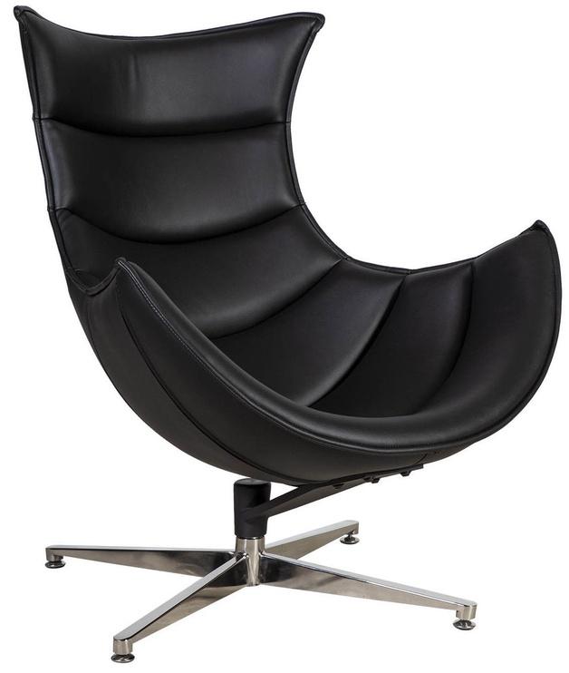 Fotelis Home4you Grand Extra Black, 86x84x96 cm