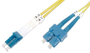 Digitus LC / SC Fiber Optic Patch Cord 3m