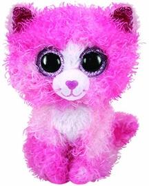 Mīkstā rotaļlieta TY Beanie Boos Reagan Cat, 15 cm