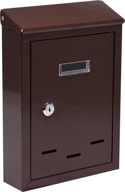 Vorel 78542 Mailbox 200x285xx60mm Brown