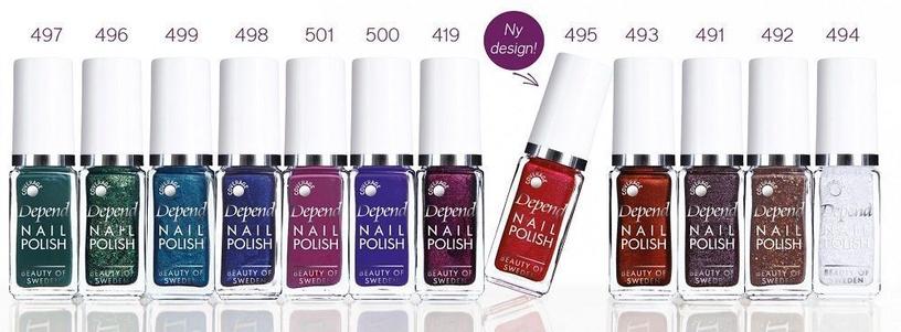 Depend O2 Nail Polish 5ml A524