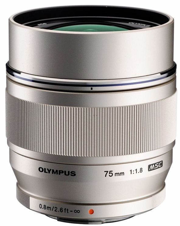 Olympus 75mm F1.8 M.Zuiko Digital ED Silver