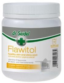Barības piedevas suņiem Dr Seidel Flawitol Healthy Skin & Shiny Coat Powder 400g