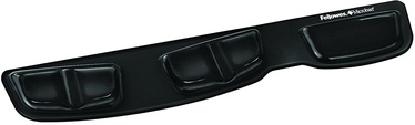 Fellowes Crystal Keyboard Palm Support Black 9183201