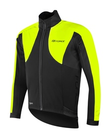 Force X100 Jacket Unisex Black/Yellow L