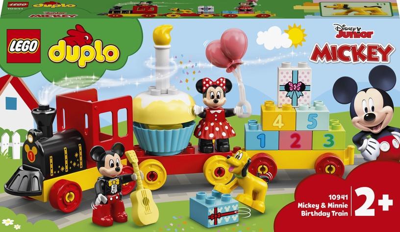 Конструктор LEGO Duplo Disney Праздничный поезд Микки и Минни 10941