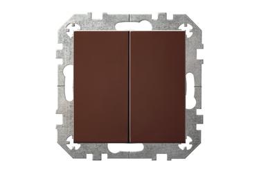 Slēdzis Liregus Epsilon IP6+6-10-001-01 Brown