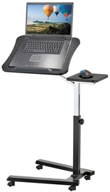 Tatkraft Folding Laptop Stand Table Black