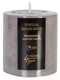 Home4you Candle Sensual Sandalwood D6.8xH7.2cm