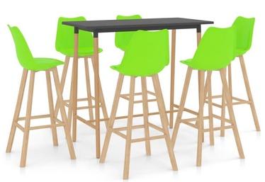 Обеденный комплект VLX Bar Furniture Set 287252/289173, зеленый
