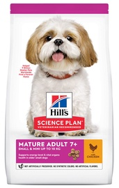 Hill's Science Plan Small & Mini Mature Adult Dog Food w/ Chicken 3kg
