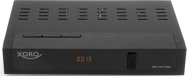 Xoro HRK 7672 TWIN Receiver Black