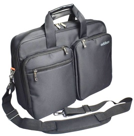 "Addison Notebook Bag Preston Black 15.6"""