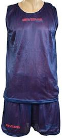 Komplekt Givova Complete Double Basketball Set Blue Red XS