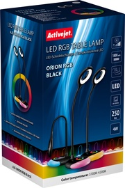 Светильник ActiveJet With RGB Lightning Base Orion, LED, 1x4Вт
