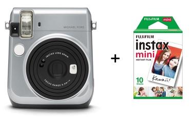 Моментальный фотоаппарат Fujifilm Instax + FUJIFILM Instax Mini Film (Glossy) (Color) 10