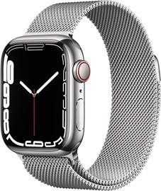 Nutikell Apple Watch Series 7 GPS + LTE 41mm Stainless Steel, hõbe