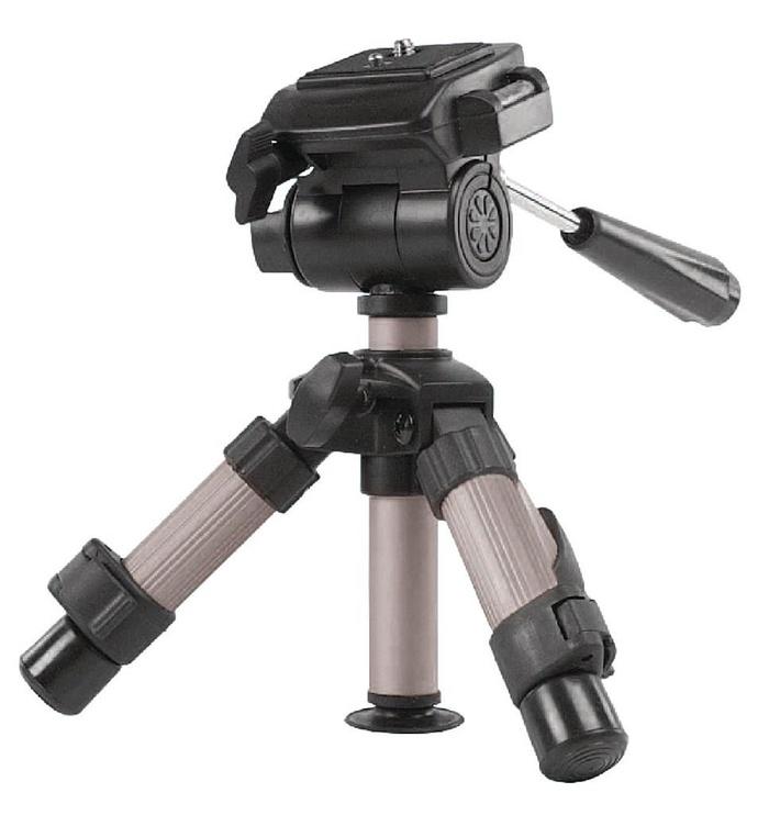 Konig Mini Photo And Video Camera Tripod Silver/Black