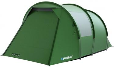 Četrvietīga telts Husky Baul 4, zaļa
