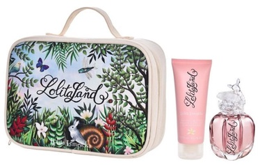 Lolita Lempicka Lolitaland 40ml EDP + 75ml Body Milk + Cosmetic Bag