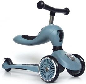 Bērnu skūteris Scoot and Ride Highway Kick 1 Steel, zila