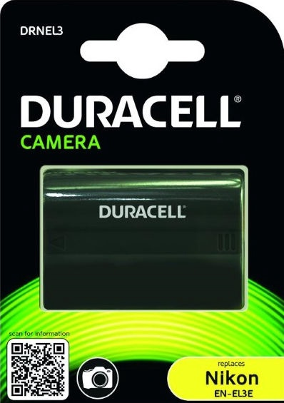 Duracell Premium Analog Nikon EN-EL3/EN-EL3a/EN-EL3e Battery 1400mAh
