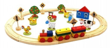 Playme Wooden Railway 38