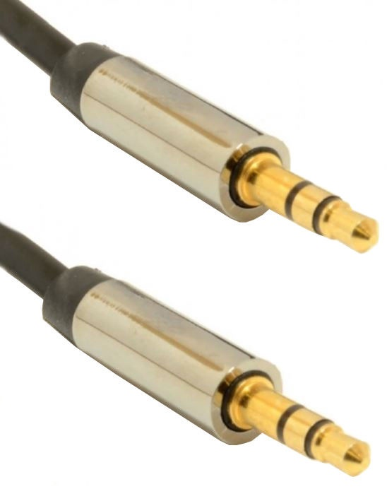 Gembird Cable 3.5mm to 3.5mm Black 1m