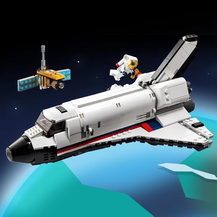 Конструктор LEGO Creator Space Shuttle Adventures 31117, 486 шт.