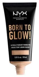 NYX Born To Glow Naturally Radiant Foundation Vanilla 30ml