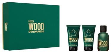 Komplekt meestele Dsquared2 Green Wood 3pcs Set 150ml EDT