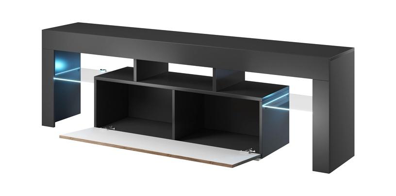 TV galds Cama Meble Toro 138, brūna, 1380x400x410 mm