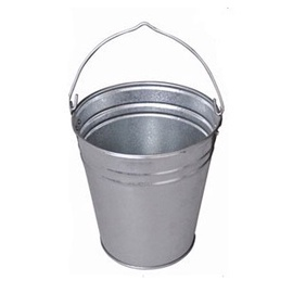 SN Galvanized Metal Bucket 15l