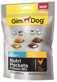 Gimborn GimDog Nutri Pockets Fitness Mix 150g