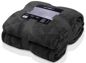 DecoKing Clyde Blanket Black 220x240cm