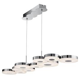 Pakabinamas modernus šviestuvas Searchlight Chromia 60210-10CC, 10 x 3.8W LED