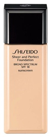 Shiseido Sheer And Perfect Foundation SPF18 30ml D20