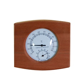 Flammifera AP-046BW Sauna Thermometer with Hygrometer